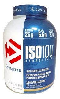 Iso 100 Proteína Hydrolyzed 5 Lbs Vainilla Dymatize.