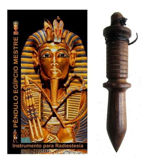 Pêndulo De Madeira Egípcio Mestre 8cm