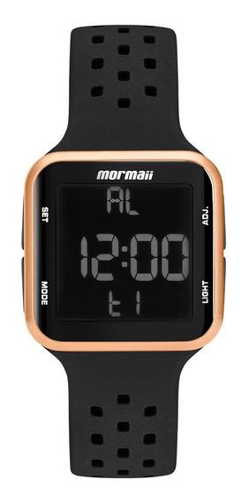 Relógio Digital Mormaii Silicone Preto Mo6600/8j Original