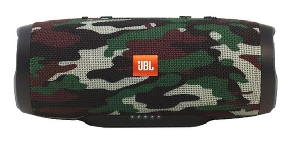 Caixa de som JBL Charge 3 portátil Squad