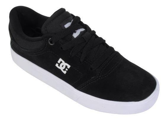 Tênis Dc Shoes Crisis La Preto/branco 10380 Original