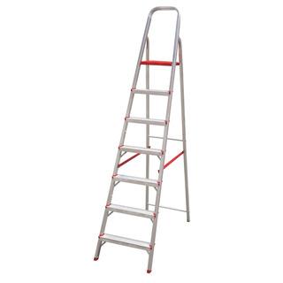 Escada Botafogo Com 7 Degraus Suprema - Aluminio