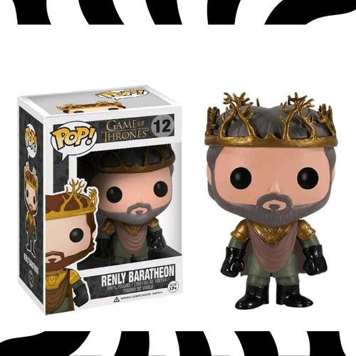 Funko Pop! Renly Baratheon - Pop! Tv Game Of Thrones #12