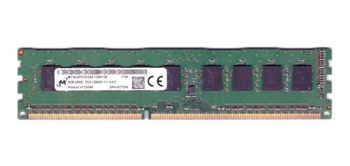 Imagem 1 de 3 de Memoria 4gb Micron Ddr3-1600 2rx8 Ecc Udimm T110 Ii