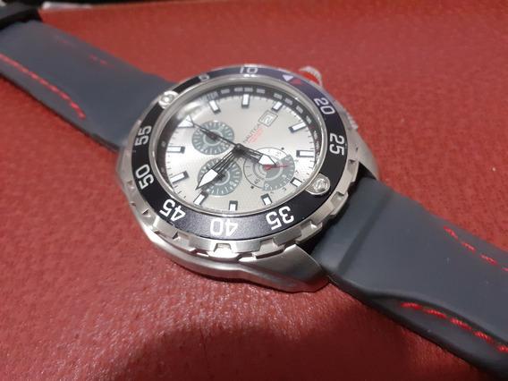 Relógio Nautica Chronograph Mergulho Water Resistant 100 M