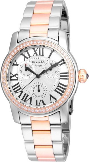 Invicta - Reloj 21708 Angel Quartz Stainless Steel Casual Pa