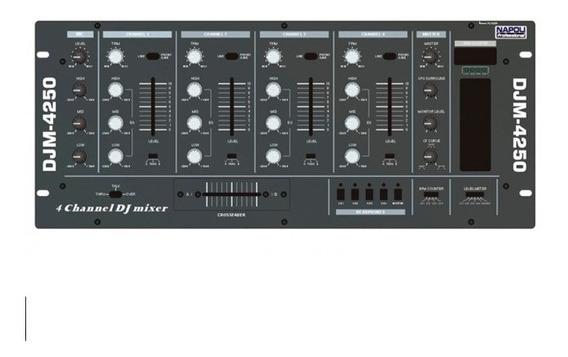 Napoli Mixer Super Dj Djm-4250 - 4 Canais Pronta Entrega