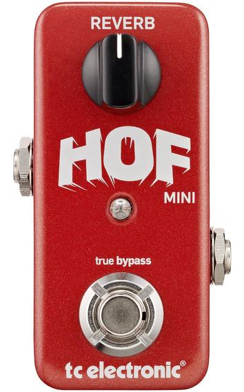 Pedal De Guitarra Tc Electronic Hall Of Fame Mini Reverb *