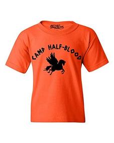 Shop4ever Campamento Half Blood Demigods Camiseta Para Joven