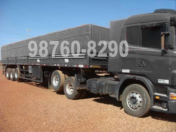 Scania 124 420 6x2 2005 + Ls Guerra 3 Eixos 2007