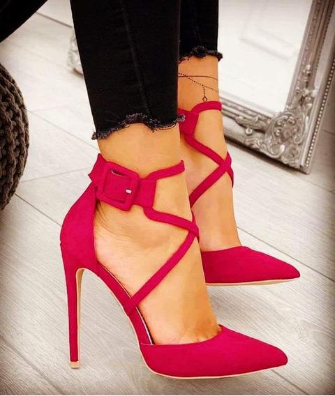 Zapatos De Taco Agutier