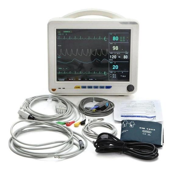 Monitor Cardíaco De 12 Nibp Spo2 Ecg
