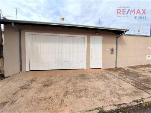 Casa Com 3 Dormitórios À Venda, 165 M² Por R$ 426.000,00 - Altos Do Paraíso - Botucatu/sp - Ca1125
