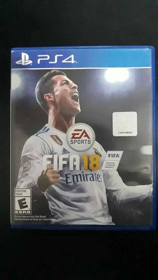 Fifa 18 - Ps4 Playstation 4