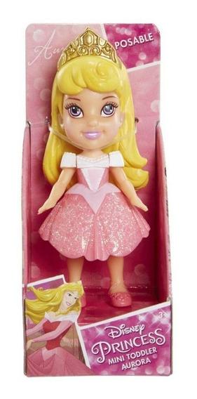 Boneca Mini Toddler Princesas Aurora Bela Adormecida 1263