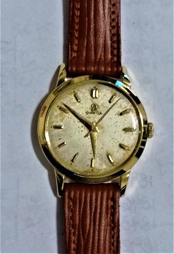 Reloj Pulsera Caballero Omega 50's Oro 18 Ktes - Calibre 283