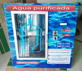 Vending Ventana Despachadora Agua Botellones Negocio Rentab