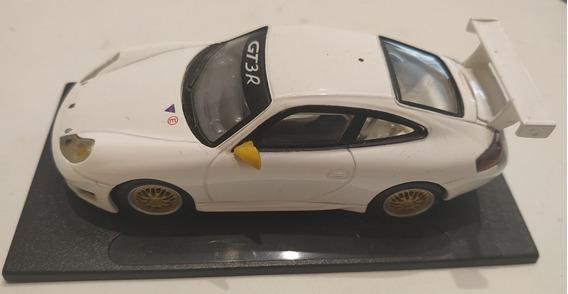 Porsche Gt 3 R Blanco 1:43 Con Base