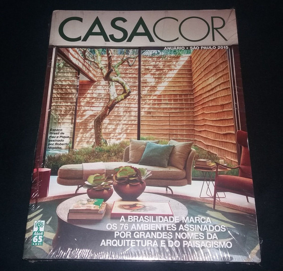 Revista Casacor Nº1 Anuário São Paulo 2015 Lacrada