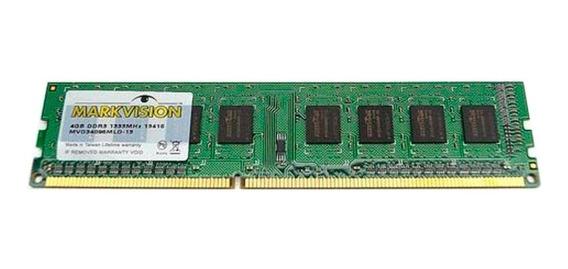 Memoria Ram Markvision 8gb 1x8gb Ddr3 1600 Mhz Bulk 6cts