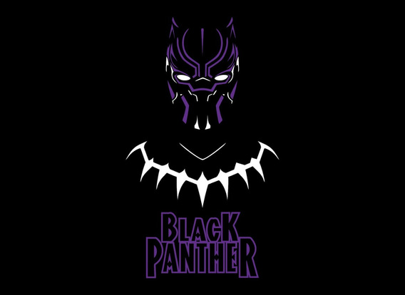 Playera Avengers Endgame - Black Phanter - Envió Gratis.