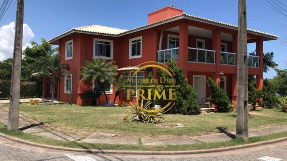 Casa De 400m No Quintas Do Lago, Com 4 Suítes Plenas... Linda - Ca1105