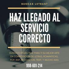 Servicio De Letras Musicales / Composicion