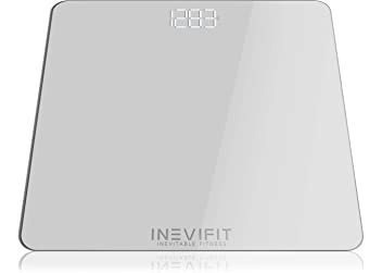 Inevifit Bathroom Scale, Highly Accurate Digital Bathroom Bo