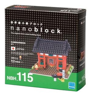Nanoblock Templo Japones Led Rompecabezas 3d Tienda Oficial
