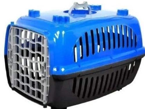 Imagem 1 de 3 de Caixa De Transporte Para Caes E Gatos N 1 Cachorros Hansters