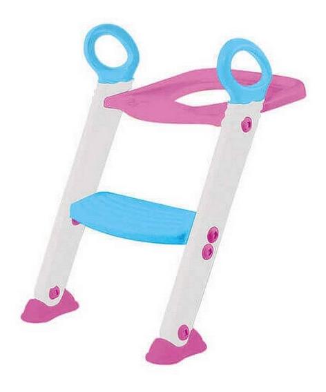 Assento Redutor Escada Trono Infantil Vaso Sanitário Buba