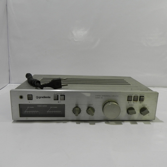 Gradiente Amplificador Stereo Model 86 - No Estado C Defeito