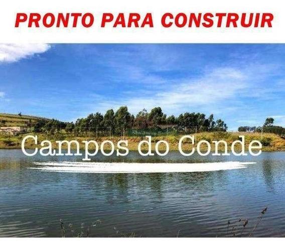 Terreno À Venda, 717 M² Por R$ 170.000 - Morada Dos Nobres - Taubaté/sp - Te0971