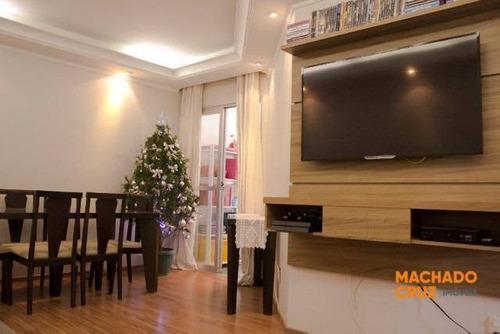 Imagem 1 de 20 de Apartamento Com 3 Dormitórios À Venda, 85 M² Por R$ 349.000,00 - Nova Petrópolis - São Bernardo Do Campo/sp - Ap0158