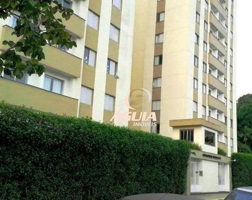 Apartamento Com 3 Dormitórios À Venda, 60 M² Por R$ 240.000,00 - Vila Luzita - Santo André/sp - Ap2258