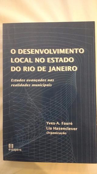 Livro O Desenvolvimento Local No Estado Do Rio De Janeiro