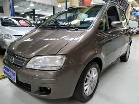 Fiat Idea Elx 1.4 Flex 2010 Cinza (completo + Rodas + Som)