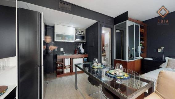 Apartamento Com 1 Dormitório À Venda, 32 M² Por R$ 380.000 - Moema - São Paulo/sp - Ap46111