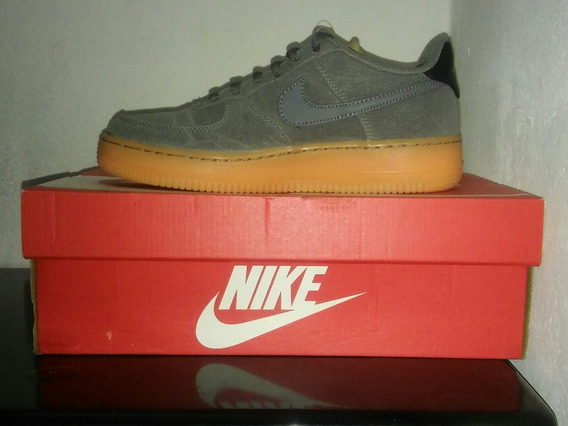 Zapatillas Nike Air Force 1 Lv8 Style Gris Hombre Mujer