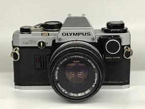 Câmera Olympus Om-10 C/lente 50mm 1:1.8.(analógica)