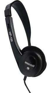 Auricular Vincha Maxell Hp100 Radio Musica