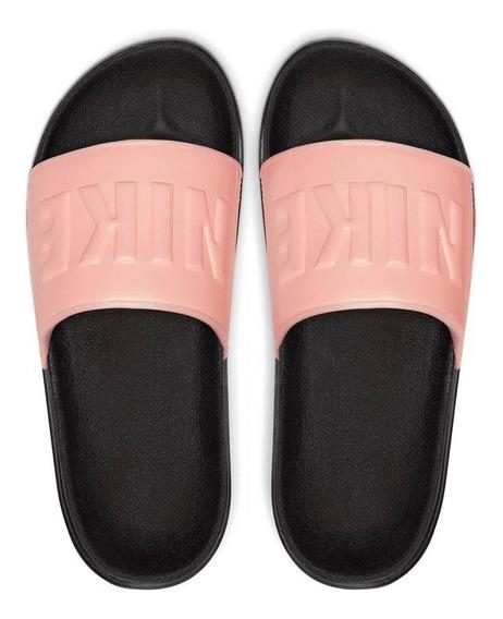 Ojotas Nike Offcourt Slide Mujer Rosa Bq4632001
