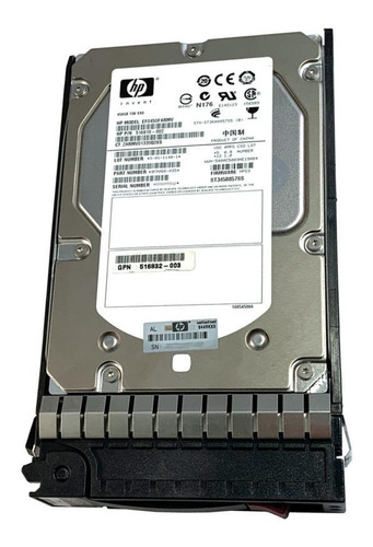 Disco duro interno HP 516816-B21 450GB