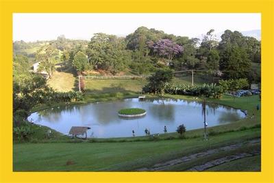 Chácara Com Vista Espetacular - Muita Água - Paraíso Real