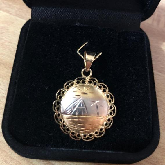 Pingente Egípcio 2,3g Em Ouro 18k - 750