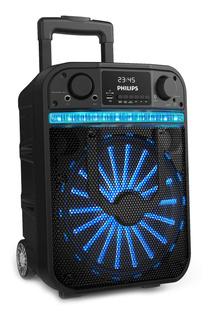 Parlante Philips Bass+ TANX20 portátil inalámbrico Negro 100V/240V