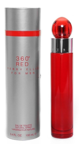 Perry Ellis 360 Red 100ml Para Hombre Eros Perfume Gquil