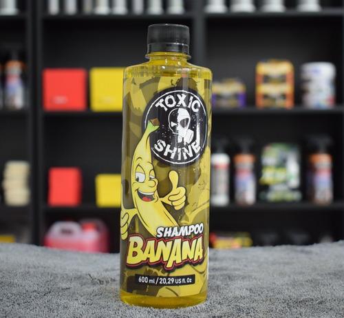 Toxic Shine Shampoo Banana Armour Gloss 600cc
