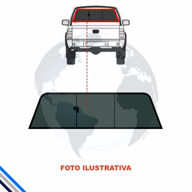 Vidro Vigia Dodge Ram 2015-2017 Completo Corredico C/ Motor