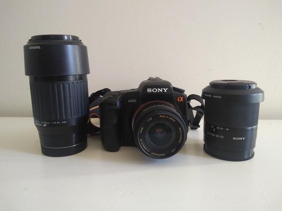 Câmera Sony A200